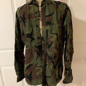 "Men's ""J. Crew"" Camouflage Long Sleeve shirt!!"